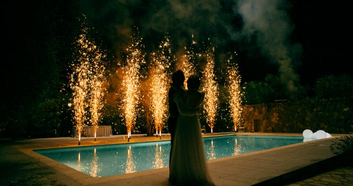 FEUX D'ARTIFICE ET MARIAGE