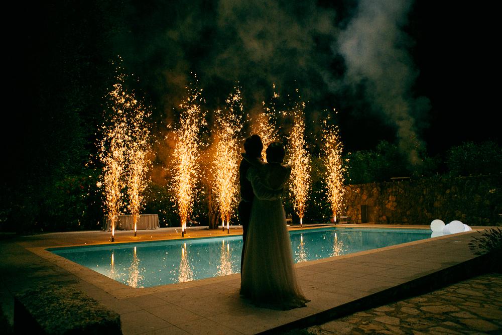 FEUX D'ARTIFICE ET MARIAGE #1 PHOTO A LA UNE
