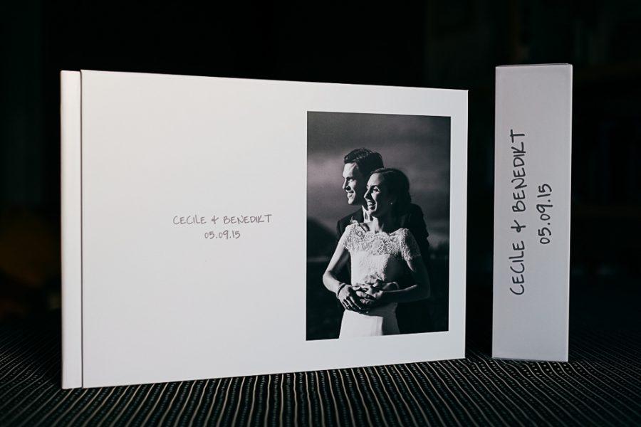 exemple de livre album photo de mariage réalisé par Flo Moncenis Photo