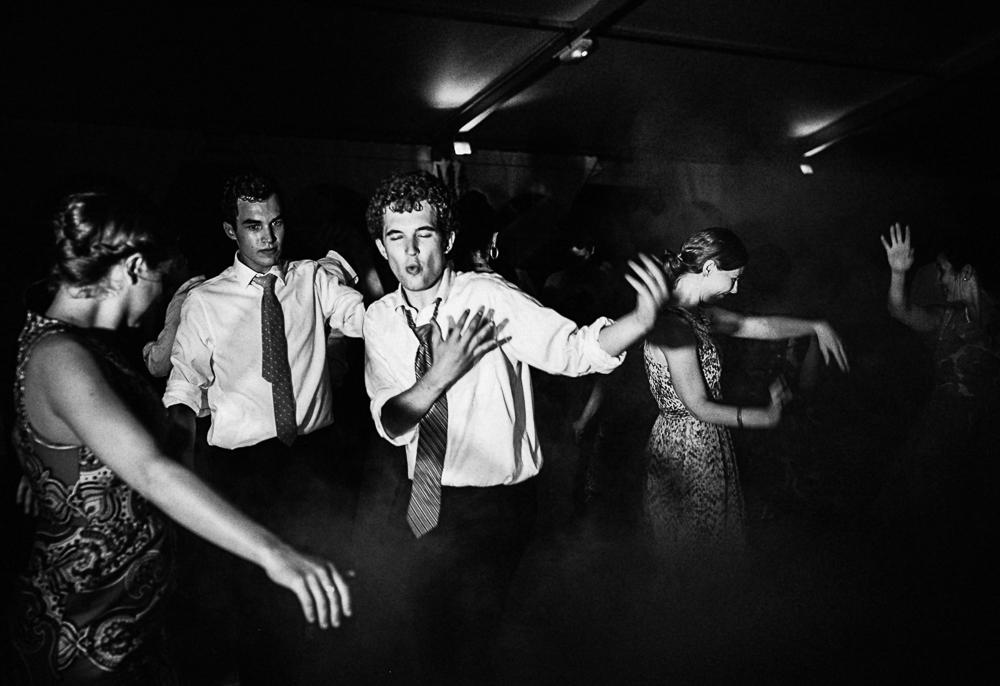 photo de la soirée dansante d'un mariage au Manoi Saint Hubert