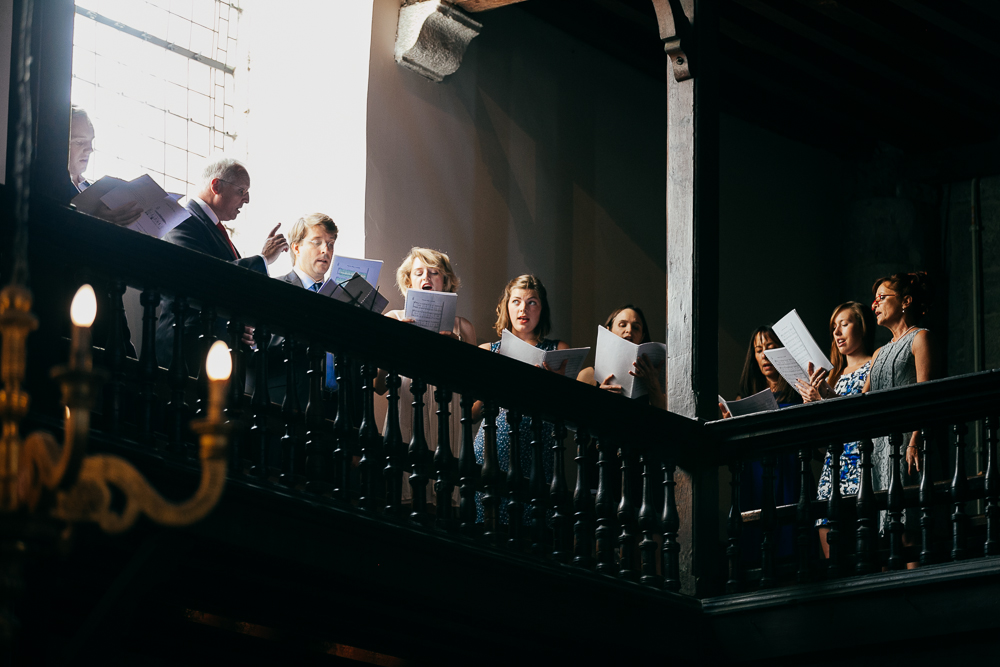 choeur pour un mariage catholique à St Jean de Luz